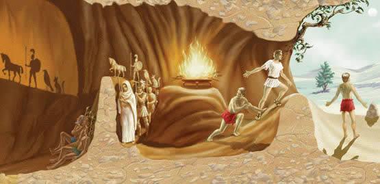 ilustracao-mito-da-caverna