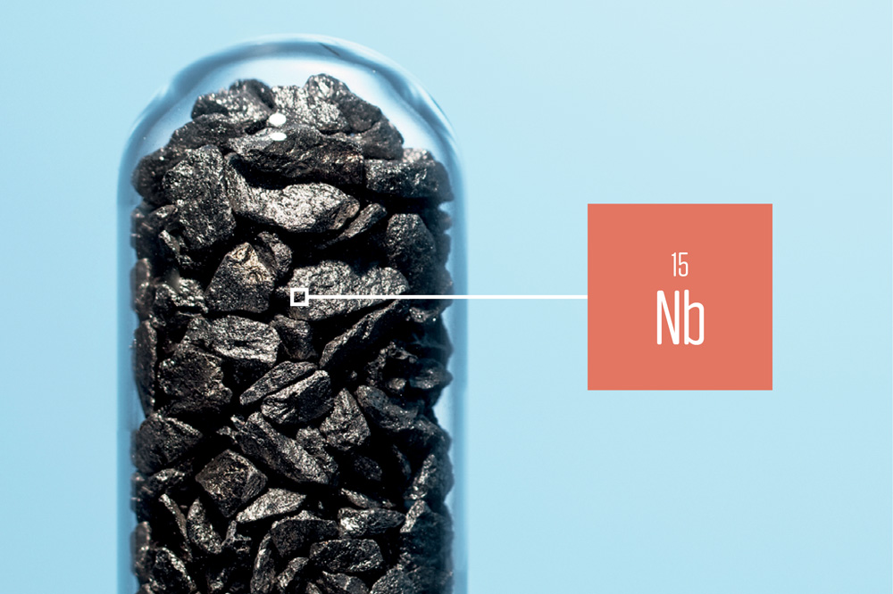 Nióbio (Nb)